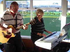 Kevin and Jan Johnston playing some great bouncy numbers