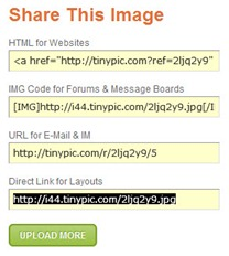 Upload image ke TinyPic