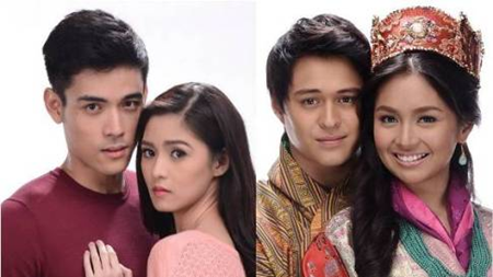Xian Lim and Kim Chiu, Enrique Gil and Kathryn Bernardo