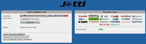 Virus free any file with jotti.org