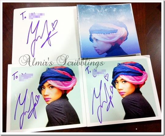 Yuna cd signed