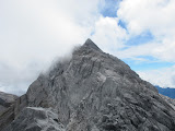 View towards Trikora summit - highest peak is behind in cloud (Ricky Munday, Dec 1, 2010)