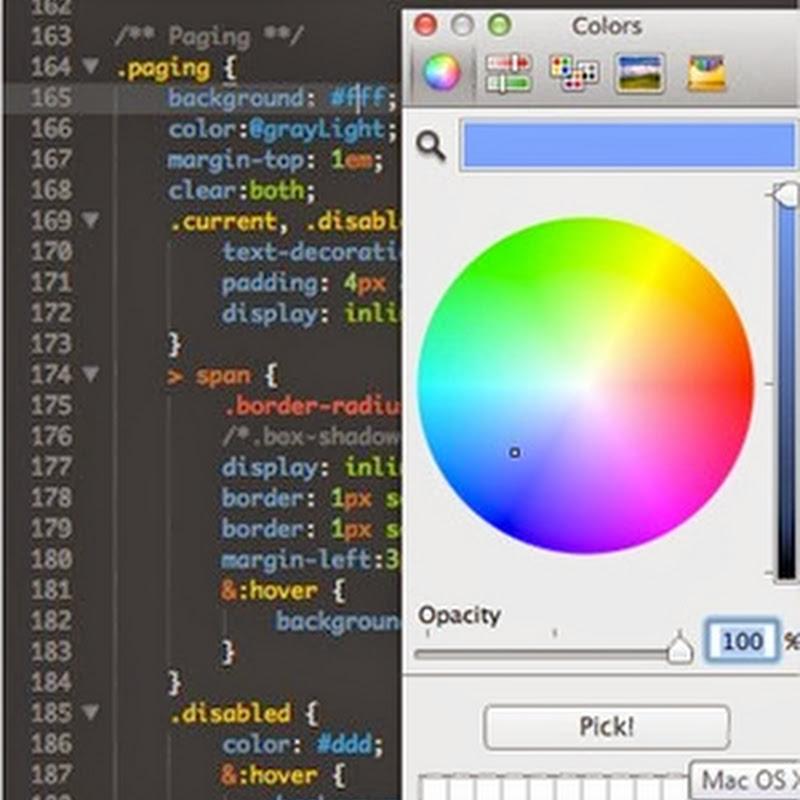 ColorPicker, plugin para seleccionar colores para insertar en Sublime Text