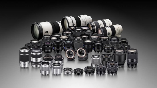 Sony Alpha Lens Library 1