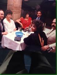 Franklyn, Daisy, Maritza, José, Georgina y Miguelito 1984