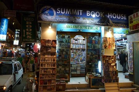 Librarie Thamel Kathmandu