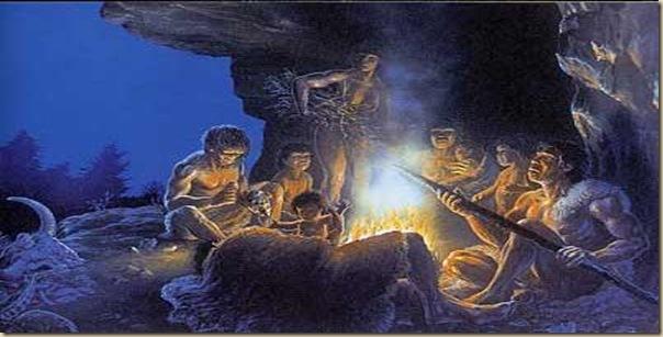 Cuisinier préhistorique