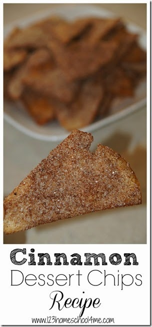 Cinnamon Dessert Chips Recipe #recipes