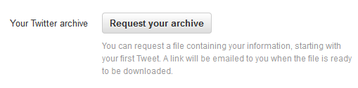 request-your-twitter-archive