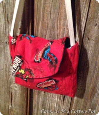 Spidey Game bag