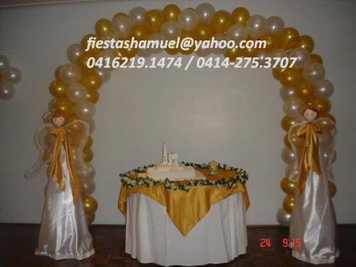Pin decoracion primera comunion con globos para tattoo - Decoracion para comunion ...