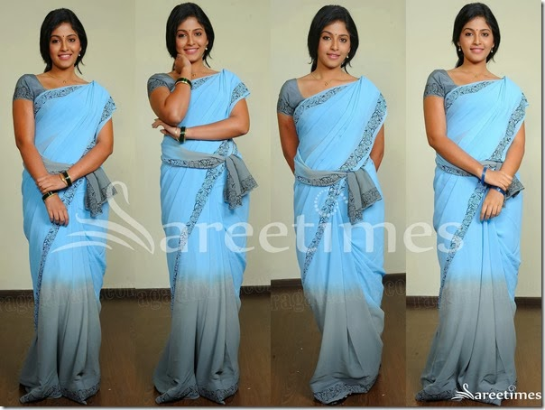 Anjali_Dual_Color_Georgette_Saree