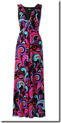 Bright maxi dress