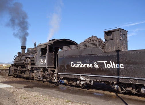 Cumbres and Toltec Scenic Railroad Antonito CO to Chama NM (44)