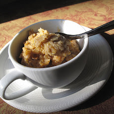 Vegetarian Pumpkin-Rice Pudding
