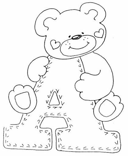Letras bonitas abecedario gordas - Imagui