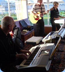 Peter Brophy following Jan Johnston's lead whilst Kevin Johnston provides the acoustic guitar accompaniment