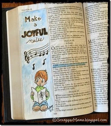 Make a Joyful Noise Little Conner