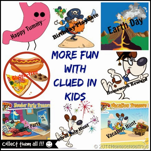 More Fun With Clued in Kids