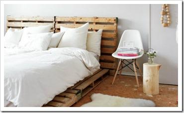 Pallet Headboard 4(Bed)