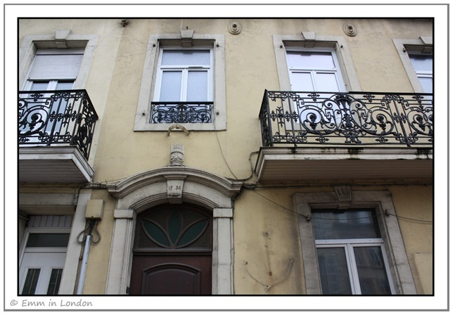 Windows and Doorways of Boulogne France 7