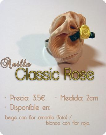 Anillo Classic Rose