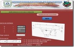Diseño hidraulico de un canal de irrigacion