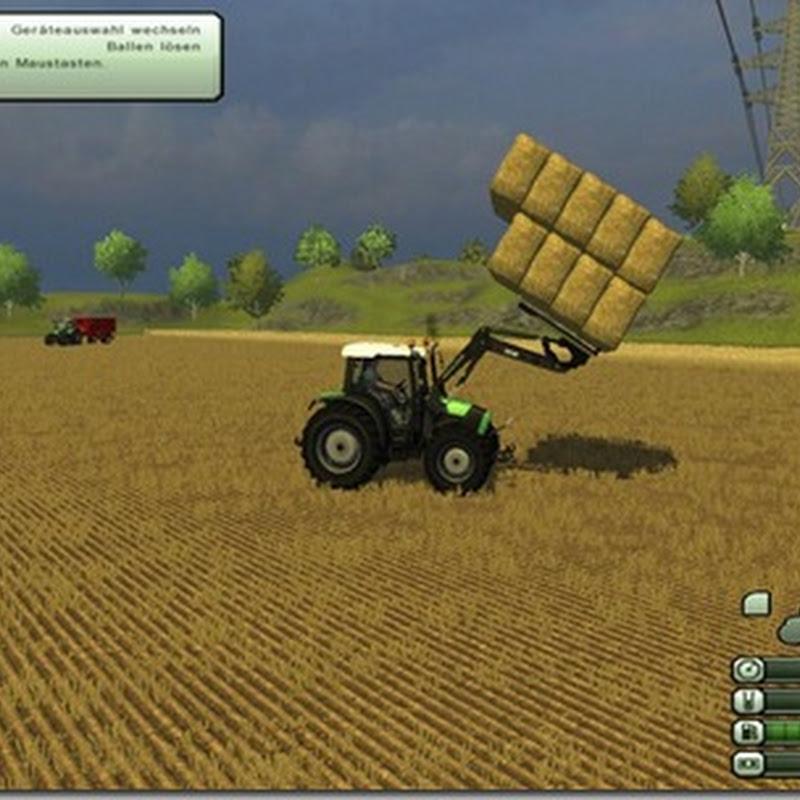Farming simulator 2013 - Bale fork v 1