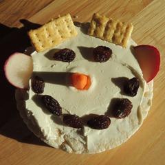 Ricecake Snowmen