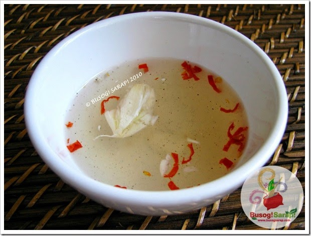 CHILI AND GARLIC VINEGAR DIPPING SAUCE© BUSOG! SARAP! 2010