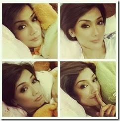 Gambar selfie Erra Fazira di bilik tidur2