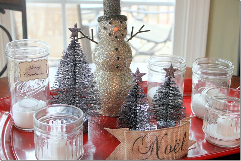 Christmas Snowman Tray 008