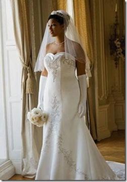hermosos y elegante vestido para bodas gorditas en talla extra
