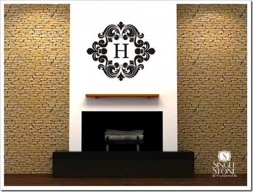 others-chic-baroque-monogram-wall-decals-inspiration-in-pretty-luxury-grey-white-home-interior-design-beautiful-monogram-wall-decal-design-inspiration-in-fabulous-homes-780x585