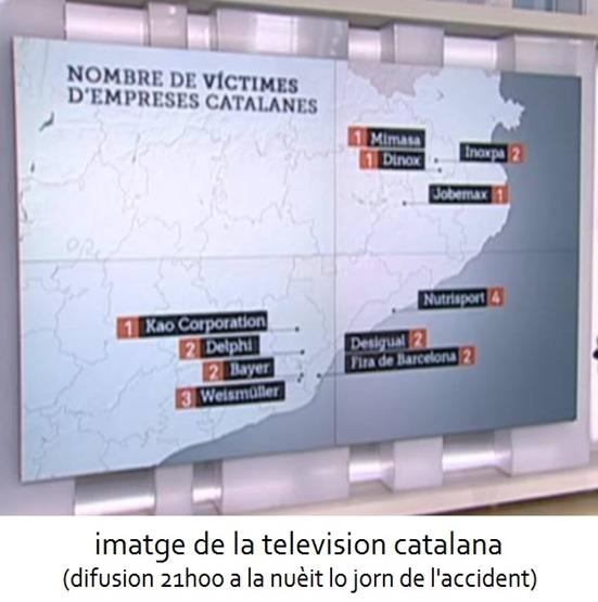 Catastròfa per las entrepresas catalanas germanwings