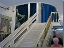 Graceland Mansion Up Stairs