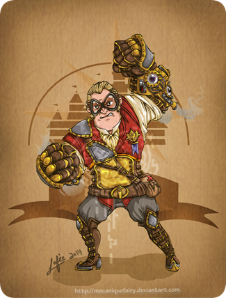 Disney Steampunk Mr. Incredible by MecaniqueFairy