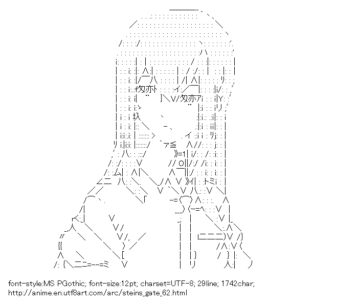 Steins;Gate,Makise Kurisu