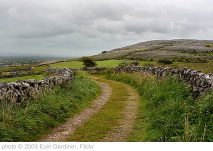 'Road through the Burren' photo (c) 2009, Eoin Gardiner - license: http://creativecommons.org/licenses/by/2.0/