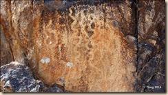 Old petroglyph