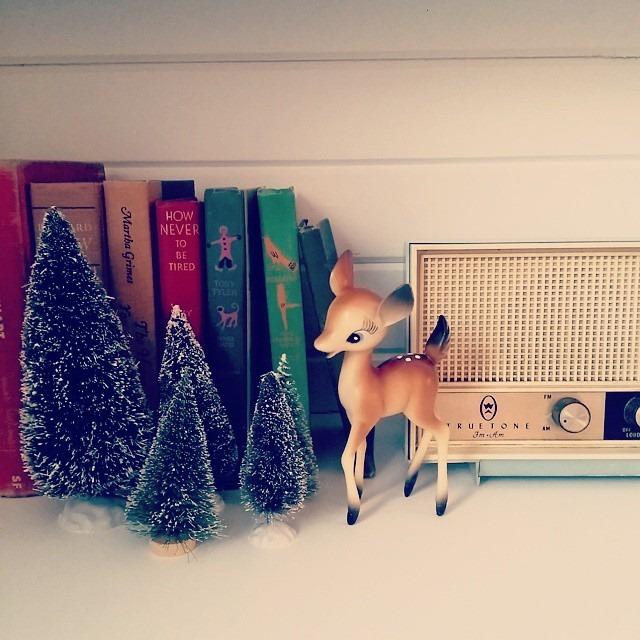 thriftscorethursday decorandthedog vintage deer