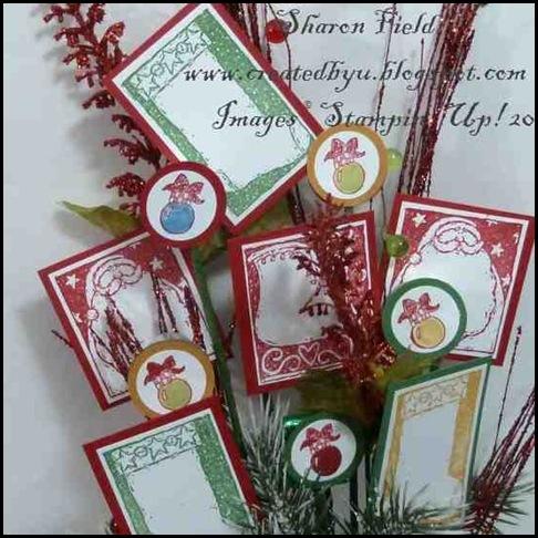 4. Retired Stamp Set Flower Arrangement By SHaron_Field