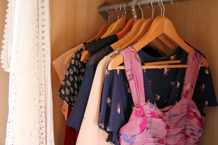 Inside My Wardrobe Fashion Blogger