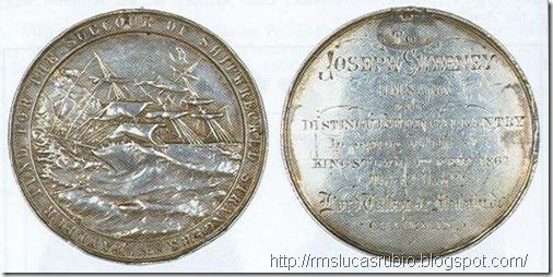 Medalha de Joseph Sweeney