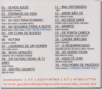 Pedro Henrique e Leonardo 12