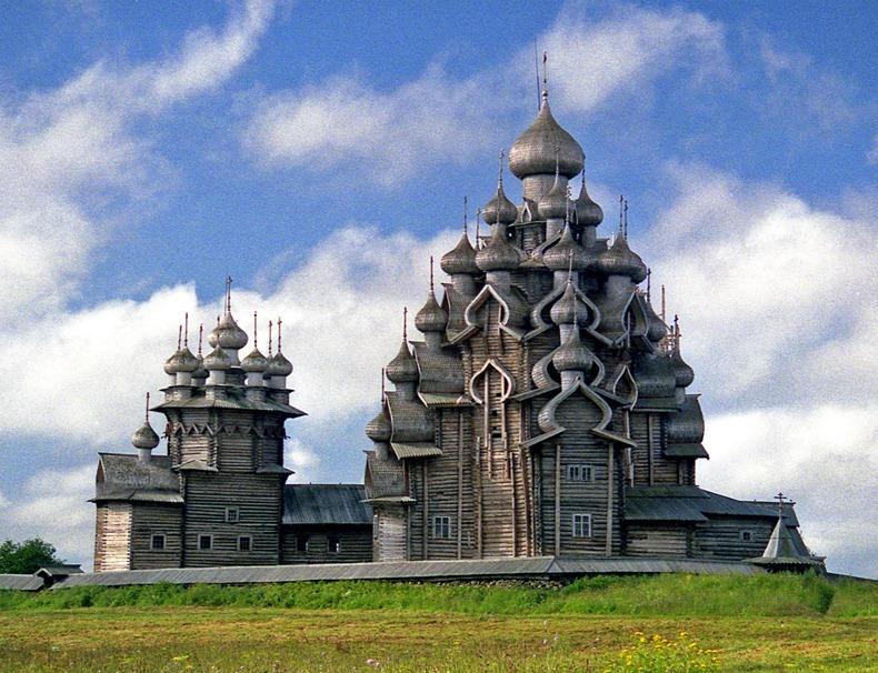 Moskau - Karelien - St. Petersburg   13.-23. Juli 1991