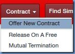 Offer new contract in FM 2013