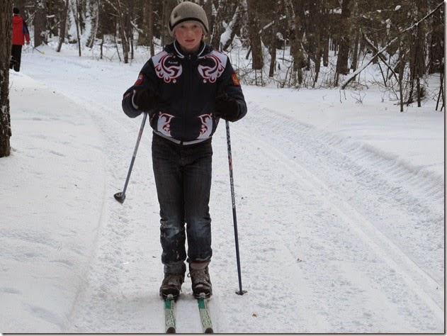 Лыжи 108