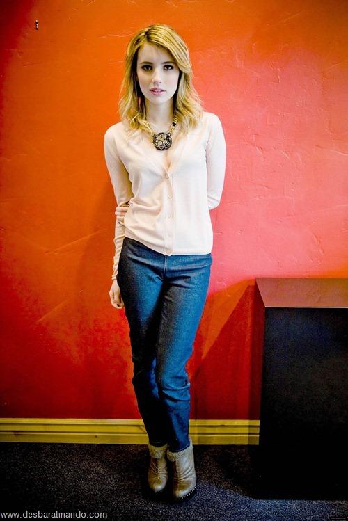 Emma Roberts linda sensual sexy sedutora desbaratinando (144)