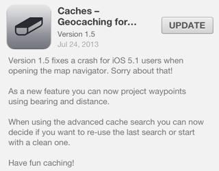 Caches version 1.5